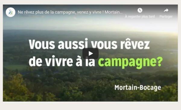Une vidéo présente avec humour les atouts de Mortain-Bocage dans la Manche
