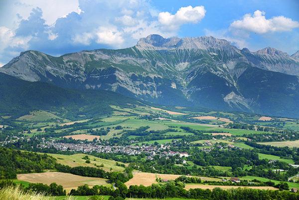 Le village de Mens en Isère