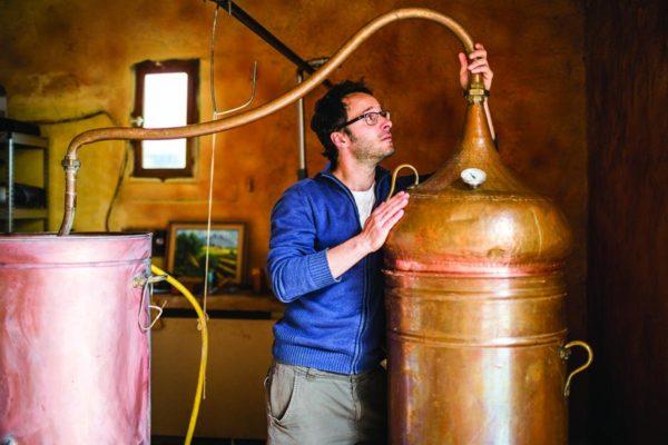 Samuel Moussali est producteur d'huiles essentielles à Los Masos
