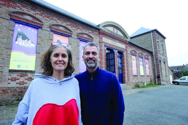 Sandrine Lebrun et Jean-Christophe Parquier