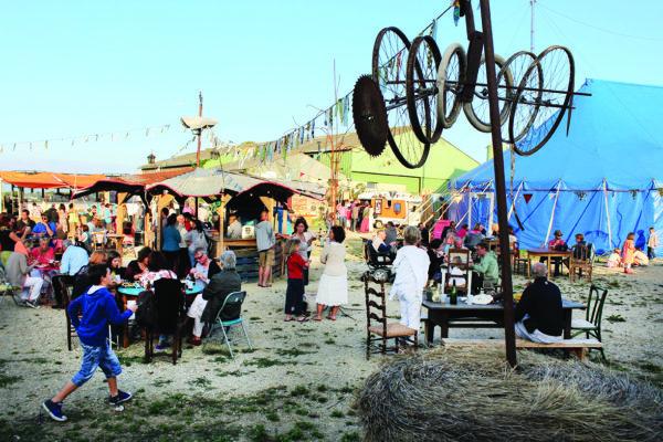 La Panik, un cirque à la ferme
