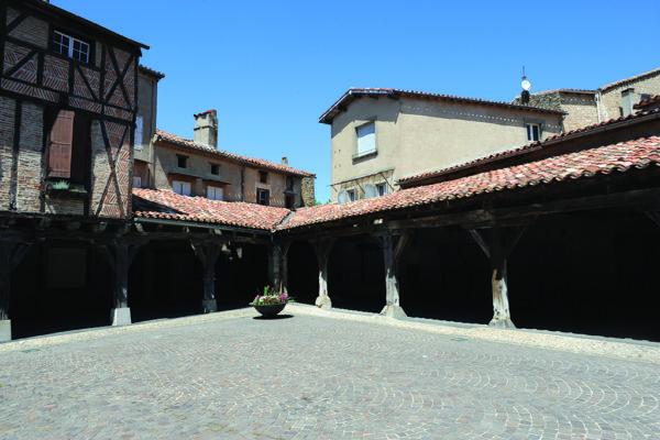 Lautrec, patrimoine médiéval