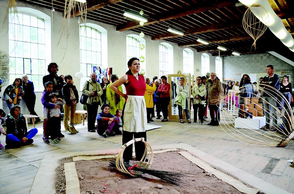 Dans la Loire, une usine devient centre d'art.
