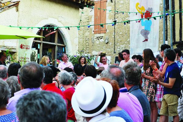 Sarrant, village du dessin dans le Gers