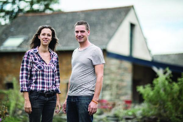 Adrien et Claire Poirrier