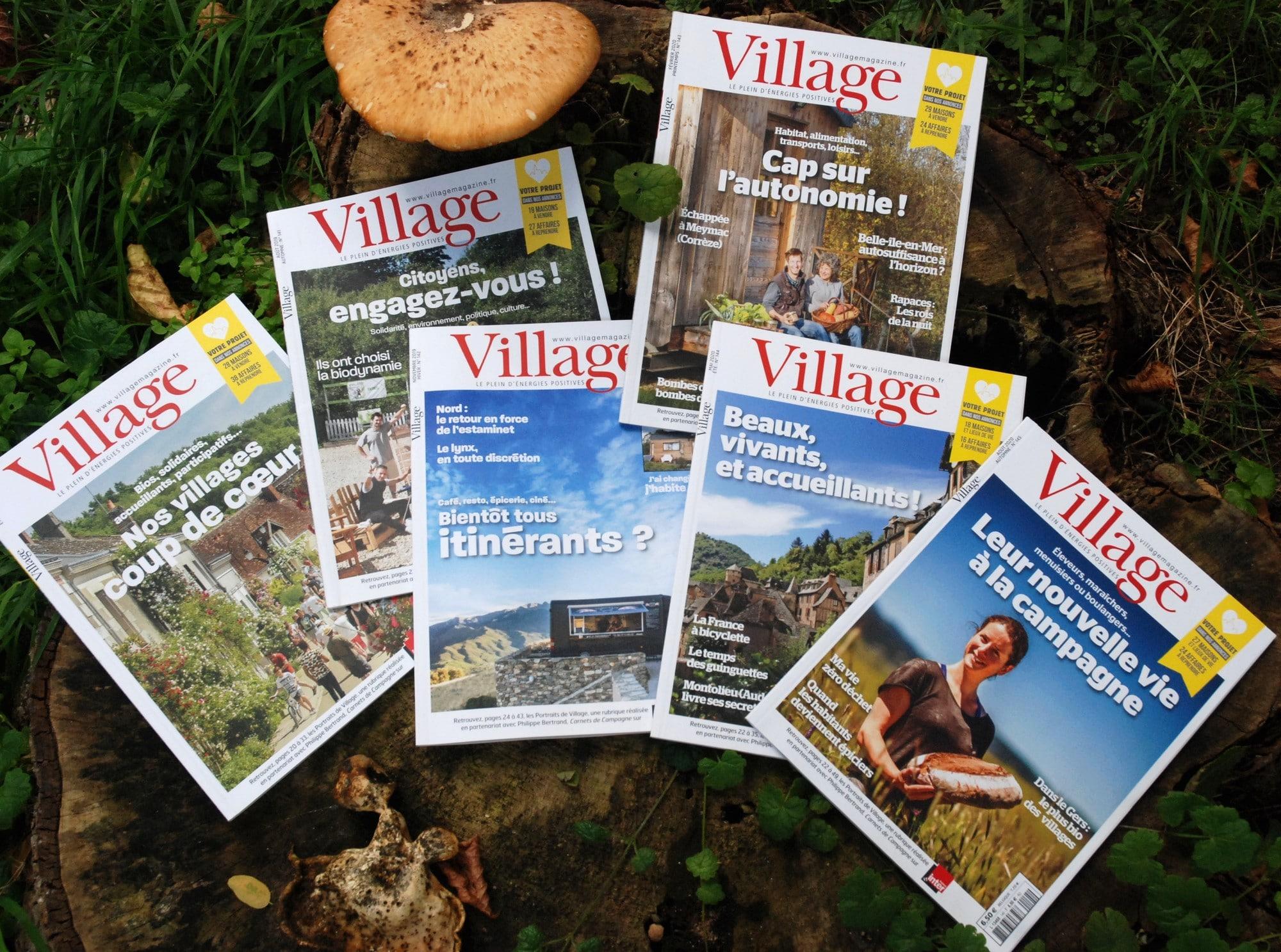 Soutenez Village ! Lisez-le ! Offrez-le !