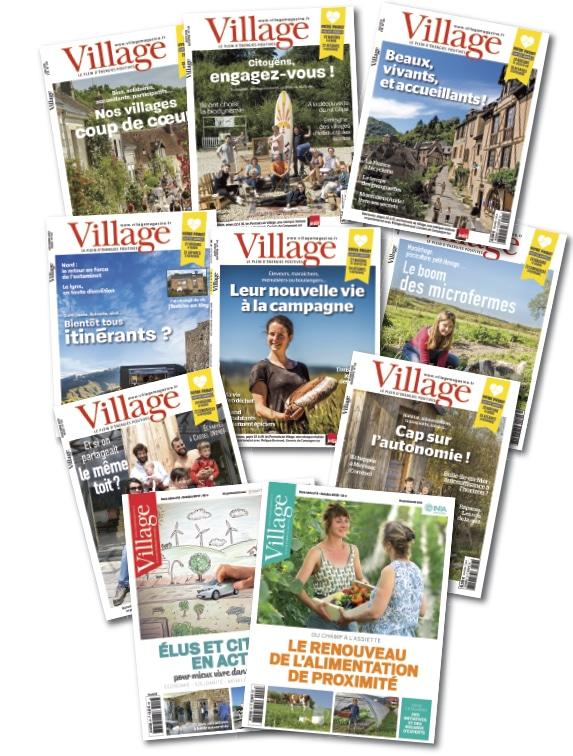 Abonnement au magazine Village - 2 ans