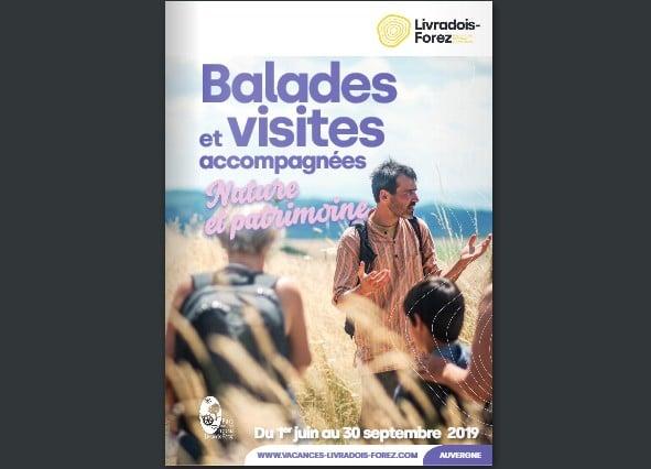 """Un guide des balades accompagnées """"nature et patrimoine"""" dans le Parc naturel régional Livradois-Forez vient de paraître."""