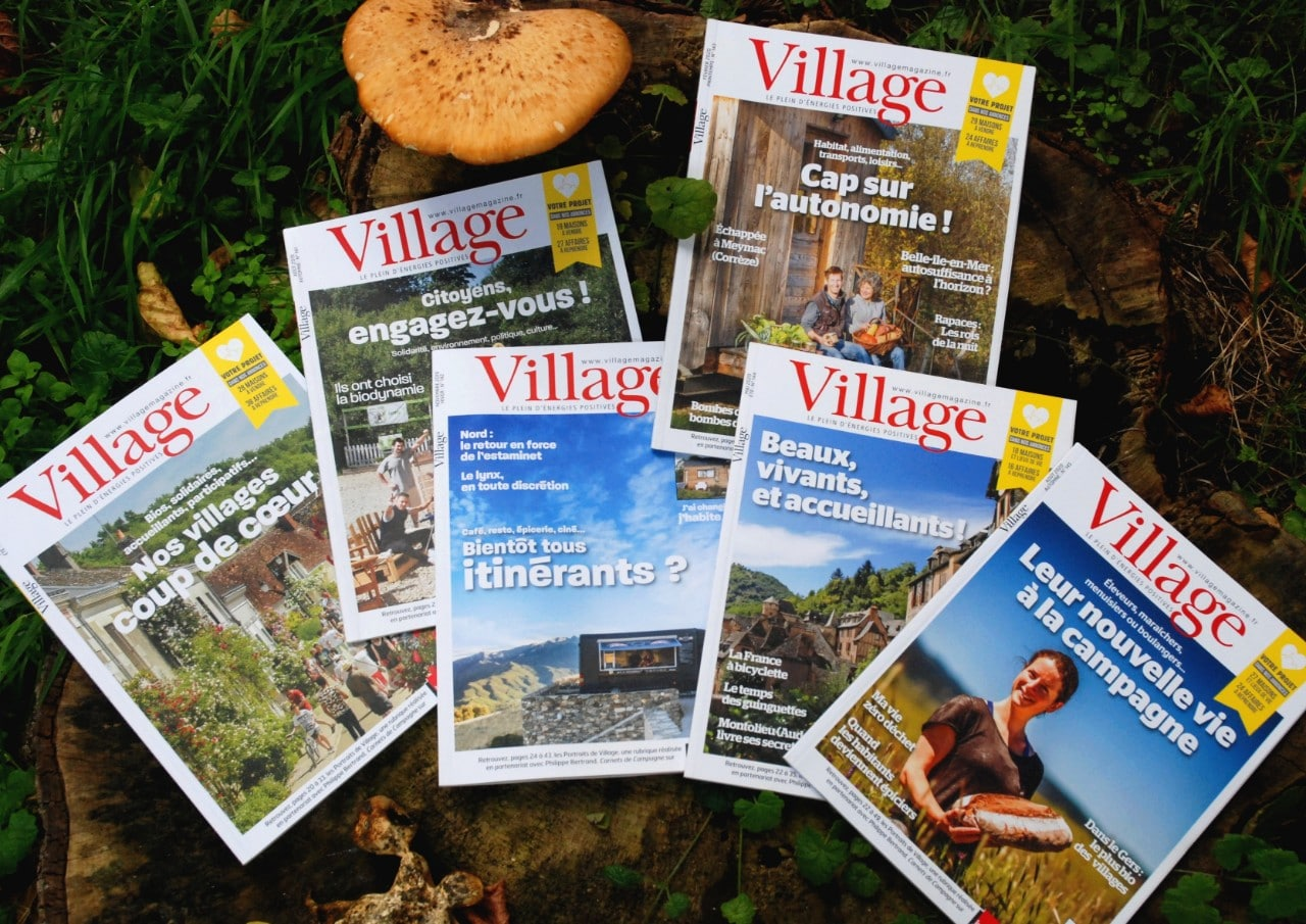 Faites connaître Magazine Village