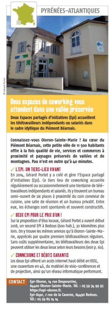 Des espaces de coworking dans les Pyrénées-Atlantiques