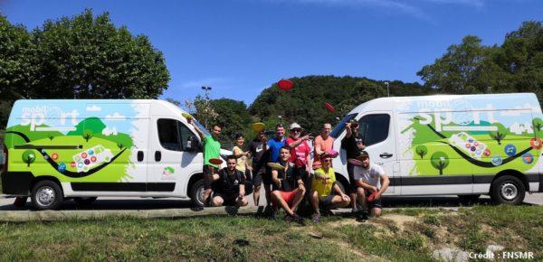 la Fédération nationale du sport en milieu rural (FNSMR) a lancé il y a trois ans le dispositif Mobil'sport.