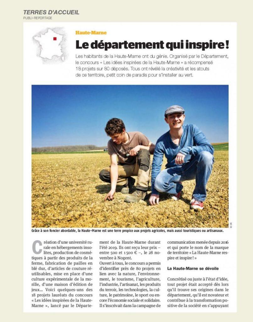 le concours « Les idées inspirées de la Haute-Marne » a récompensé 18 projets sur 80 déposés
