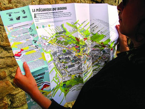 Pendant neuf mois, à partir du printemps 2016, les habitants de Sauxillanges ont participé à une étude-action lancée par la commune