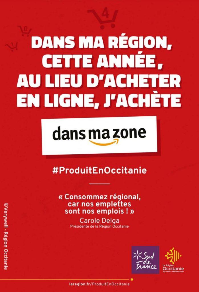 La Région Occitanie a lancé une campagne pour rappeler aux consommateurs l'importance de consommer des produits locaux.