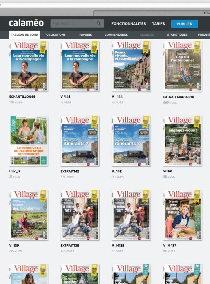 L'abonnement 100% numérique au magazine Village