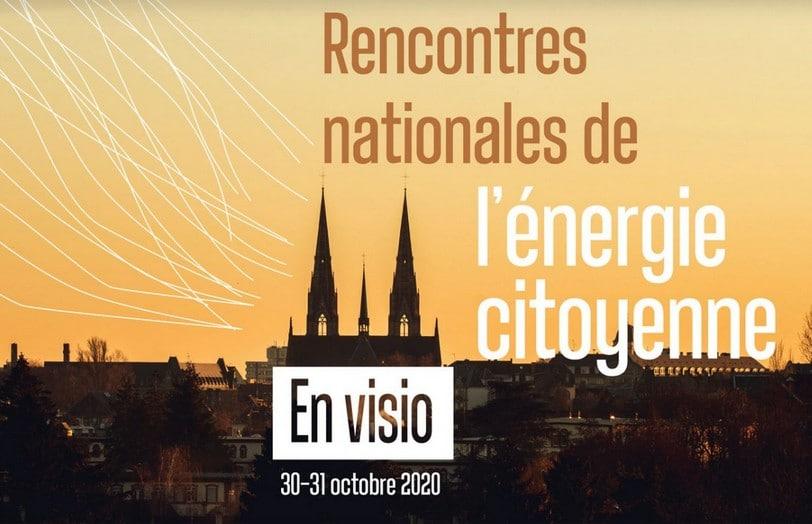 Le mouvement pour les énergies renouvelables se donne rendez-vous en ligne pour les Rencontres nationales de l'énergie citoyenne le 30 et 31 octobre 2020.