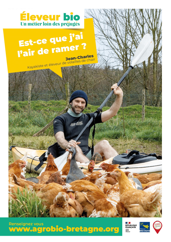 le réseau des Agriculteur·trice·s bio de Bretagne lance la campagne : Éleveur · Éleveuse bio Un métier loin des préjugés