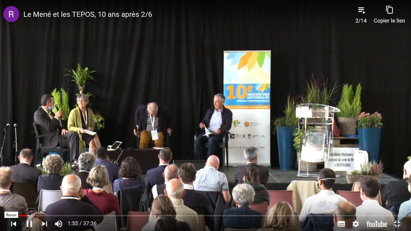 """Les Rencontres nationales """"Énergie et territoires ruraux, vers des territoires à énergie positive"""" du 23 au 25 septembre 2020 en ligne."""