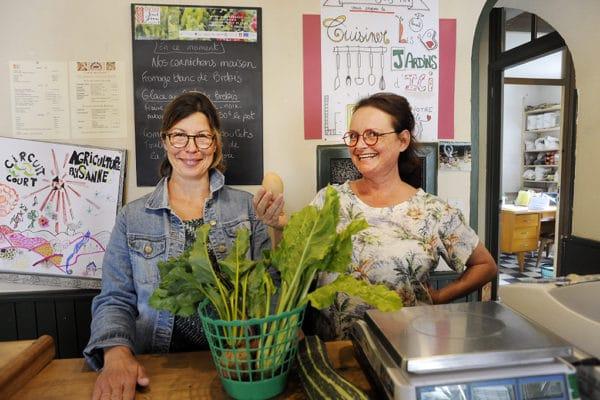 Cécile Gorlier (à gauche) et Marie-Catherine Altot ont créé bien plus qu'une épicerie.