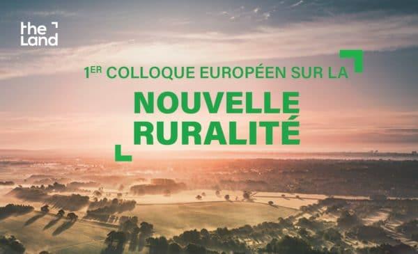 Les 20 et 21 mai, se tient le colloque européen « Vers une nouvelle ruralité ? » consacré à la nouvelle ruralité et au développement des territoires