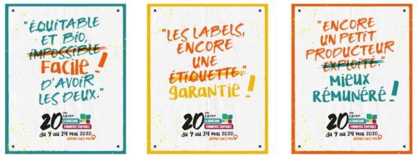Du 9 au 24 mai 2020, c'est la Quinzaine du commerce équitable qui se déroulera principalement en ligne.