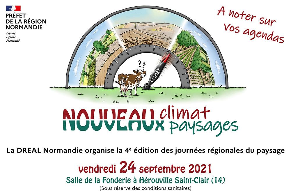 Agenda - Le 24 septembre 2021, se tient la 4ème édition des journées régionales du paysage.